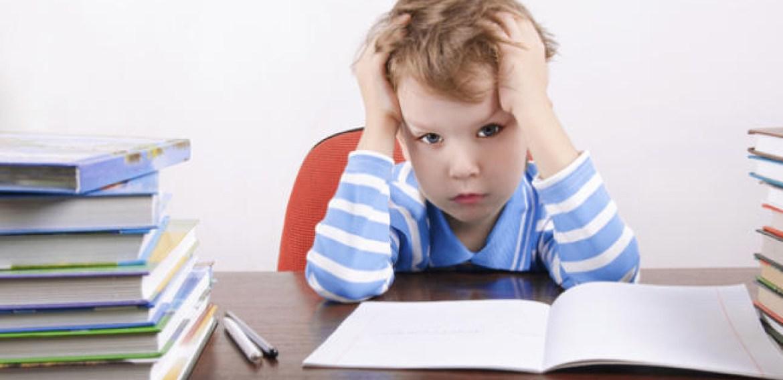 Estresse infantil pode prejudicar desempenho escolar