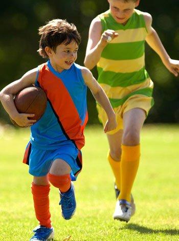 Os benefícios da prática do esporte para as crianças