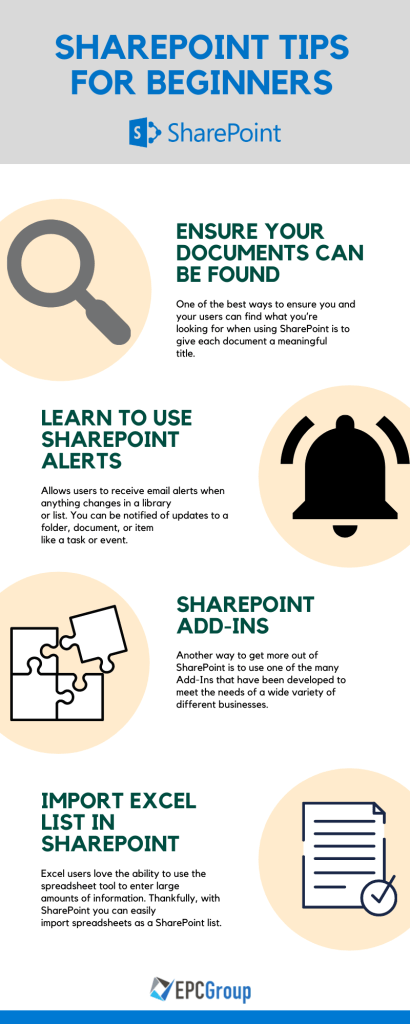 how to use sharepoint Tips