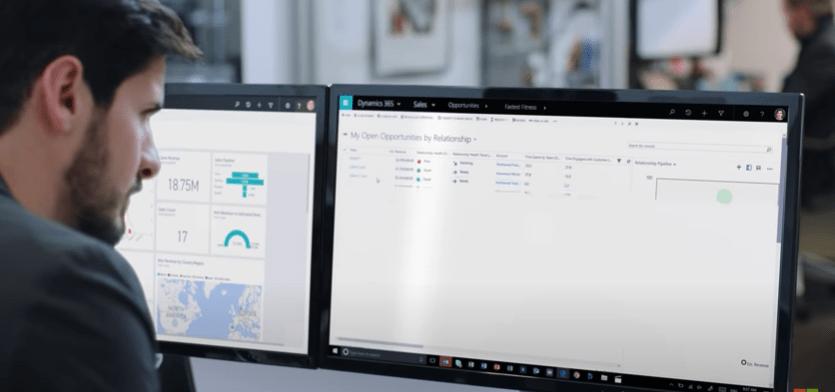 Microsoft Dynamics ERP image