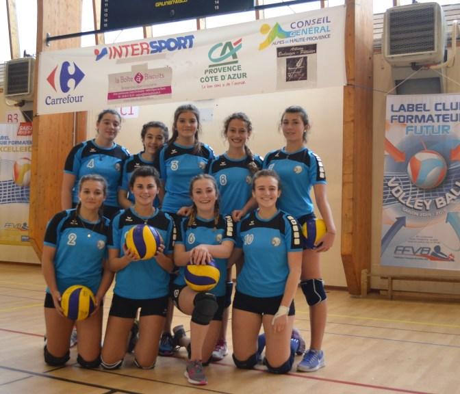 Equipe M17 féminines