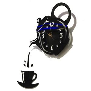 Tea and coffee theme wall clock online