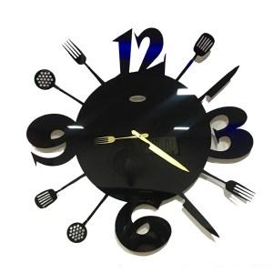 wall clock kitchen theme