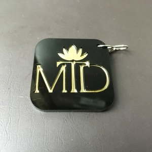 Jewellery shop logo keychain