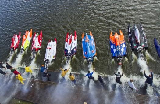 F-500 start Tallinnas Harku järvel