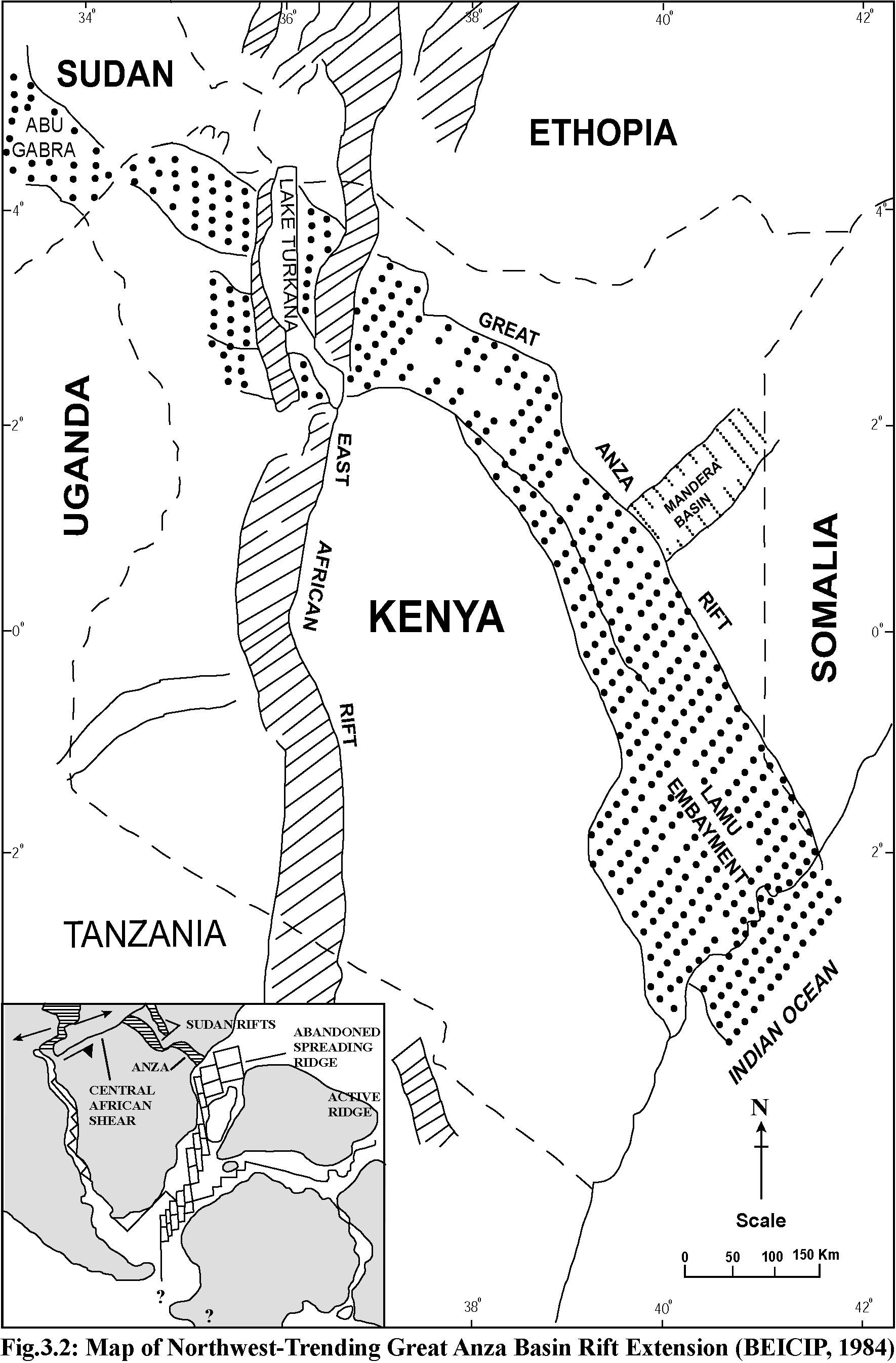 Exploration Amp Production Geology Petroleum Potential Of Nw Kenya Rift Basins A Synopsis Of