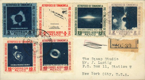 Collecting Stars on Stamps