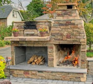 Pizza Perfection: Add an outdoor pizza oven to your patio ... on Outdoor Patio With Pizza Oven  id=64296