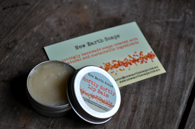 Yummy, Handmade, Sustainable Lip Balm from New Earth Soaps