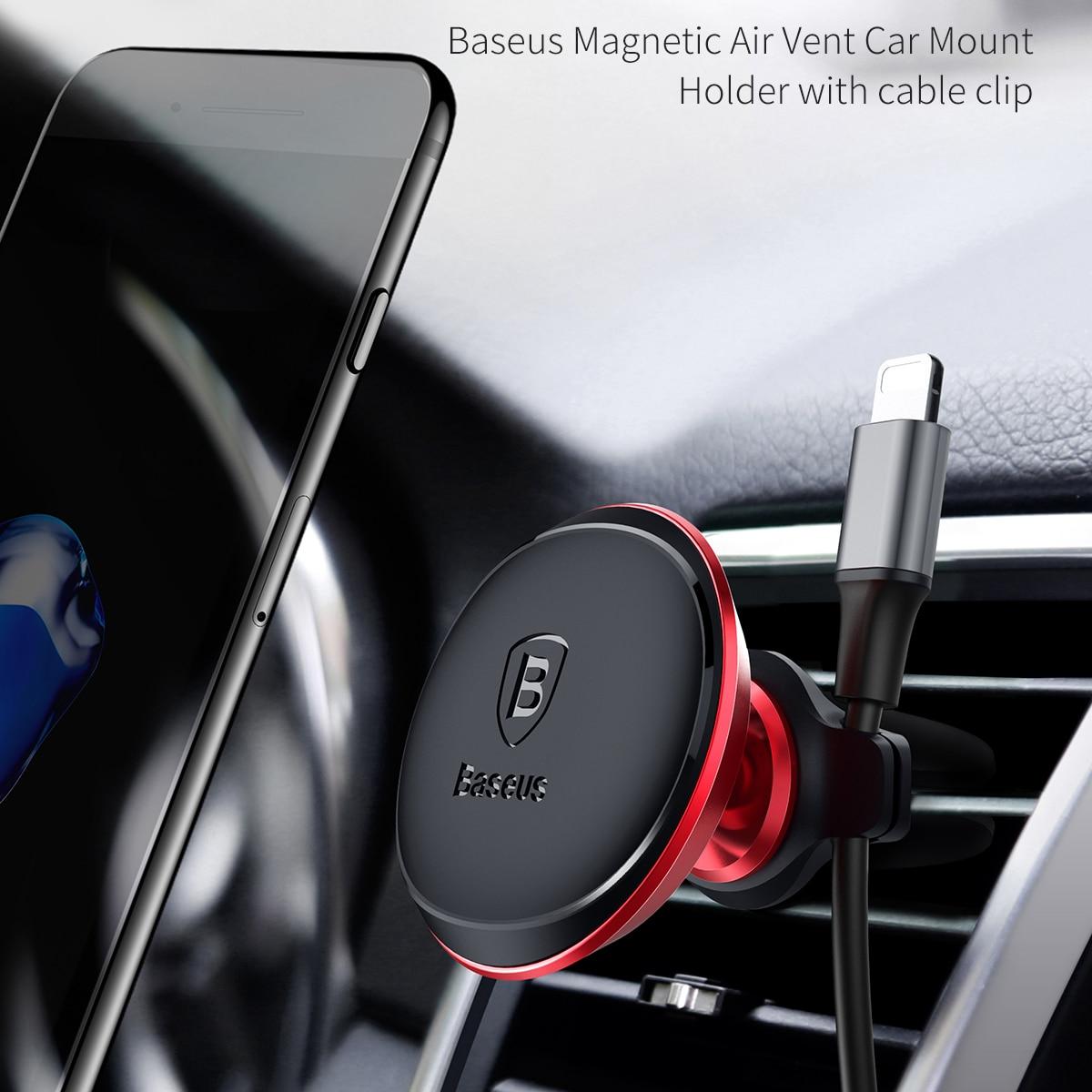 Baseus Magnetic Car Holder For Mobile Phone Holder Stand