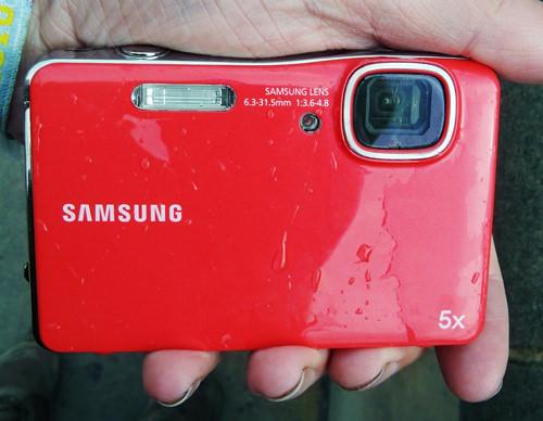 Samsung WP10 waterproof camera