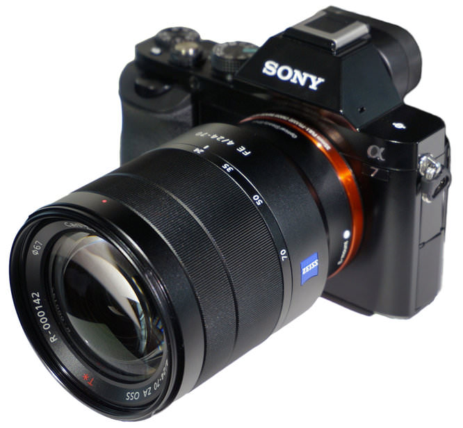 Sony Alpha ILCE 7 Carl Zeiss Zoom