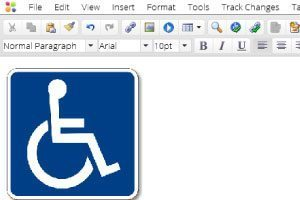 Accessibility-sign