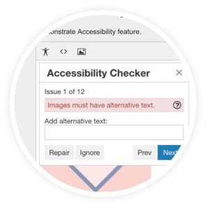TinyMCE Accessibility Checker