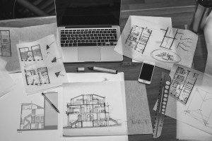 Macbook drawing house designs architecture drawings