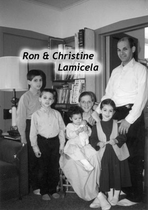 Ron & Christine Lamicela and family