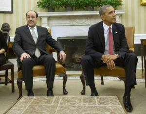 Bi-lateral meeting between President Obama and Prime Minister Maliki. November 1, 2013