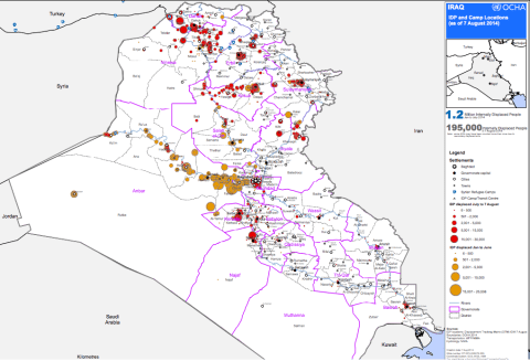 reliefweb.int sites reliefweb.int files resources Irq_IDP_Locations_DTM_7Aug2014.pdf