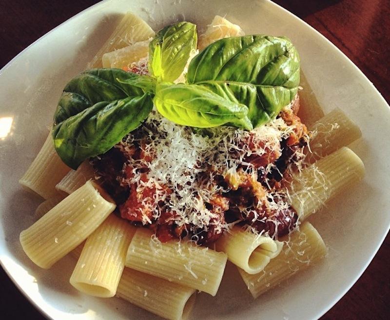 Penne alla Puttanesca Spaghetti