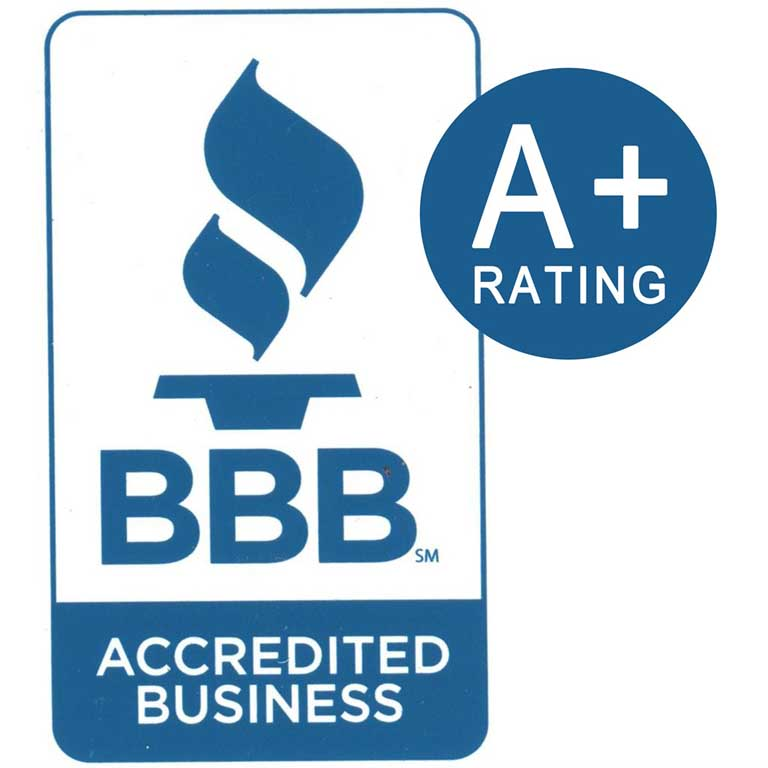 BBB Accredited A +