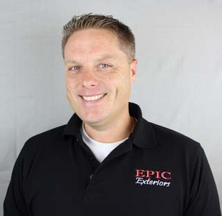 Shawn Bellis, EPIC Exteriors LLC, Owner / Operator