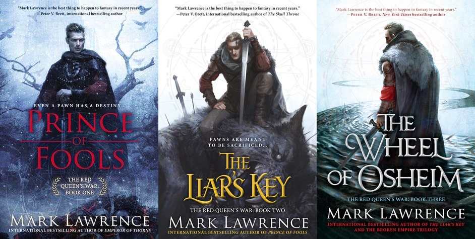 Review: The Red Queen's War Series by Mark Lawrence
