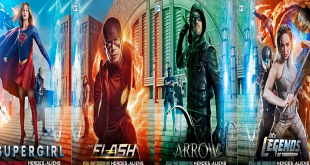Supergirl Flash Arrow Heroes of Tomorrow