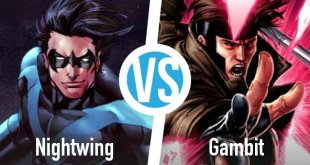 nightwing vs gambit