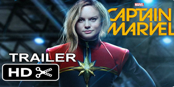 Marvel Studios Captain Marvel Movie - Brie Larson Teaser Trailer (Fan Made)