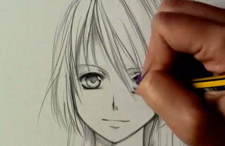 draw manga girl