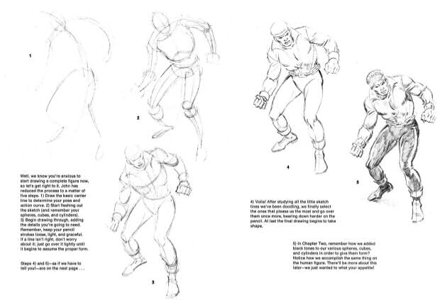 Draw Marvel Comics