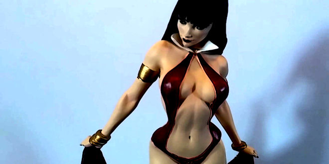 Stunning  Women of Dynamite 1/6 Vampirella Resin Statue