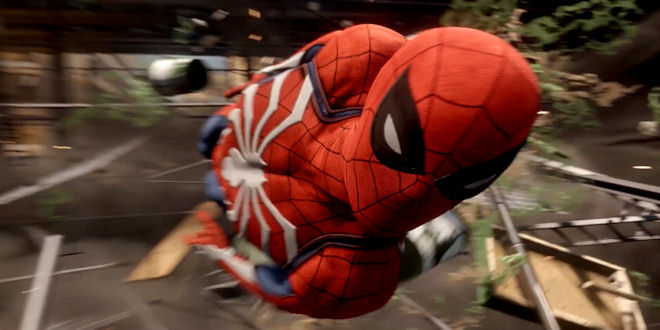 New Spiderman Game PS4