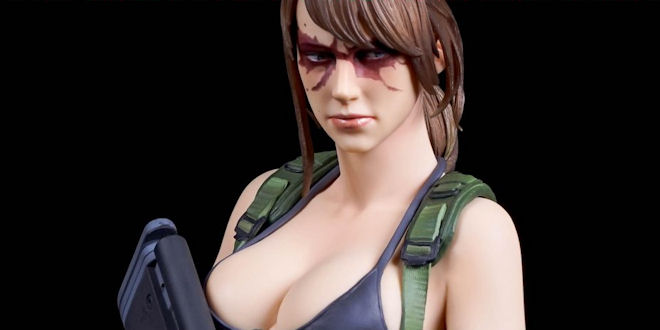 Metal Gear Solid V  - The Phantom Pain 1/6 Quiet Statue  - Gecco