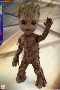 Baby Groot Action Figure