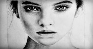 Draw Female Face Easy Tutorial Video