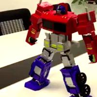 变形金刚玩具擎天柱-新的自我转换机器人