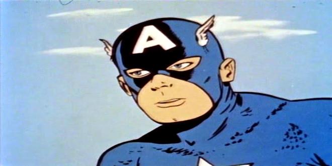 marvel comics captain america 1  tv show 1966 old cartoons