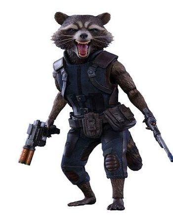 rocket raccoon masterpiece