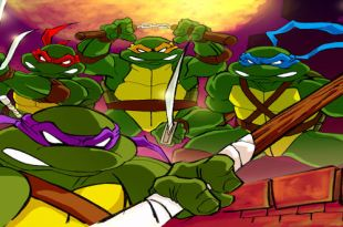 TMNT Movie Cartoons