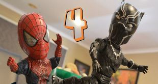 Baby Spiderman Stop Motion