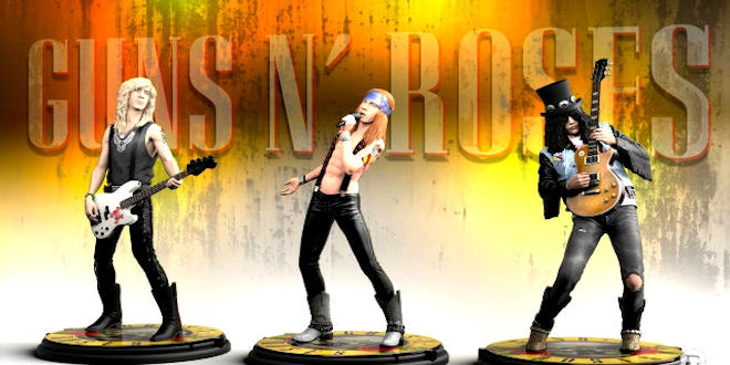 Guns n Roses Rock Iconz Statue Preview - Axl , Slash & Duff