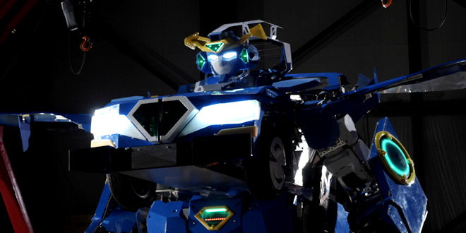 First Life Size Transformers Car that can Take real Passengers !!! Amazing News !!!