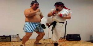 Street Fighter SFX Sound Battle - Funny Video Ryu vs E Honda