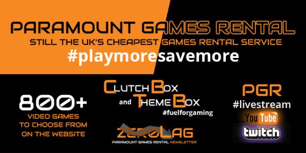 Paramount Games Rental