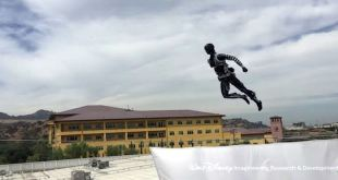 Disney Stunt Robot