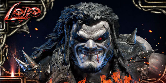 DC Comics Lobo 1/3 Statue - Injustice Gods Among Us - Prime 1 Studios - Toy News
