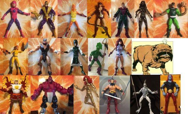custom marvel legends