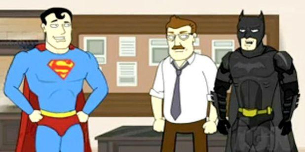 Dark Knight meets Superman