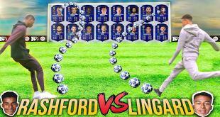 Jesse Lingard vs Marcus Rashford in Fifa 19 Ultimate Team